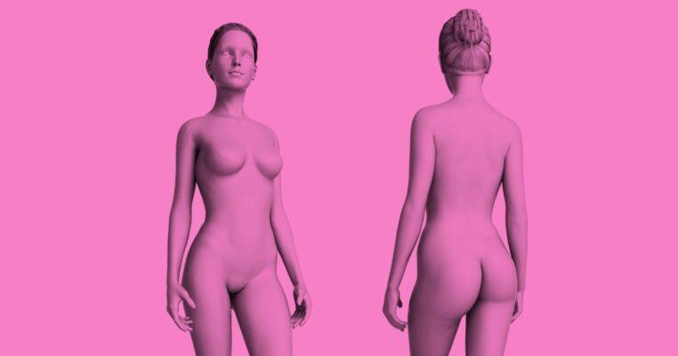 imagem rosa de tecnologia 3D mymoment
