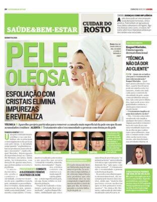Pele Oleosa - Esfoliação com Cristais Elimina Impurezas e Revitaliza