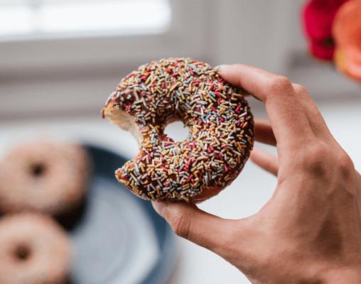 Donut com dentada - Artigo Insulina
