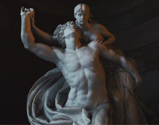 Lipoescultura, estatua grega, escultura humana