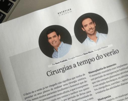 Revista Cristina — Cirurgia plástica a tempo do verão