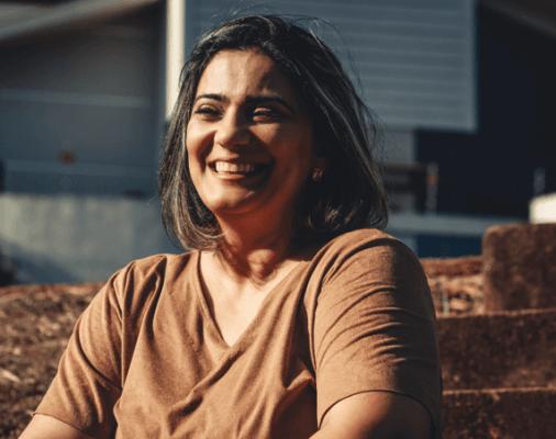 Menopausa, Senhora a sorrir