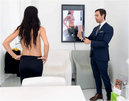 Simulação 3D Mamoplastia