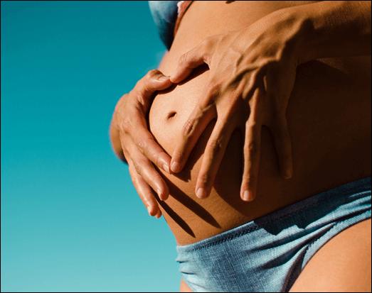 alterações da pele - gravidez